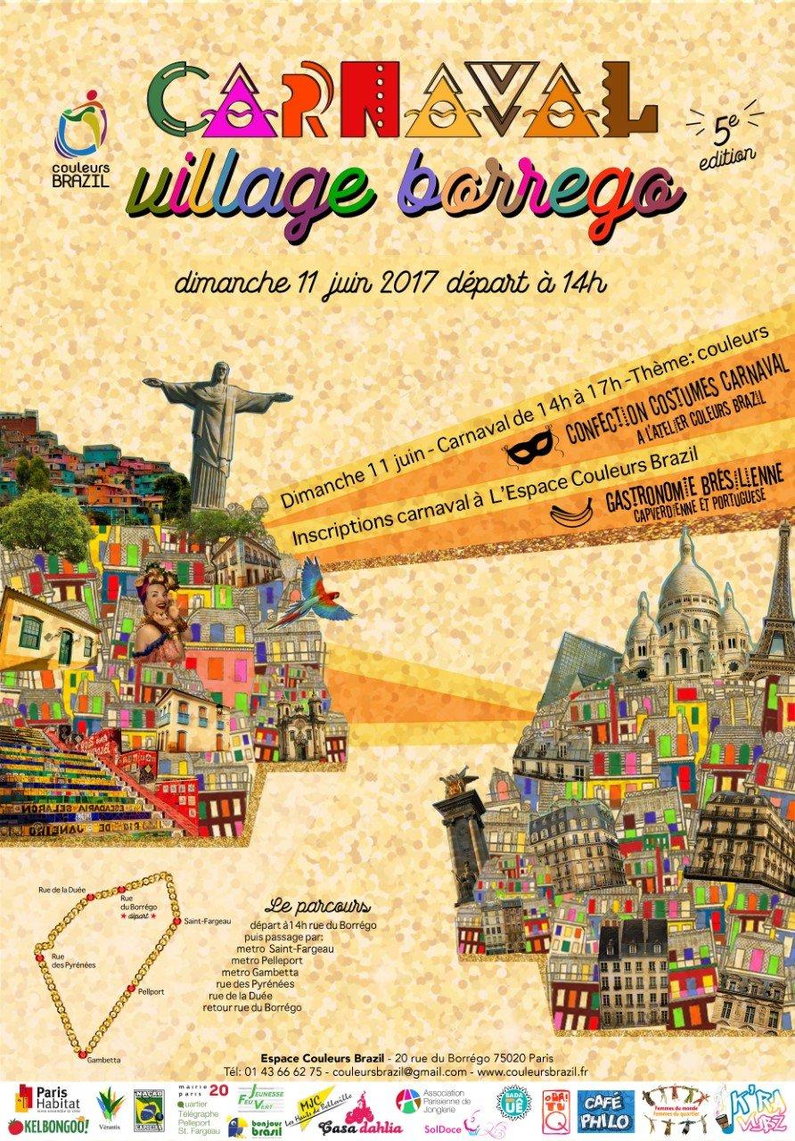 carnaval couleurs brazil 2017 borrego