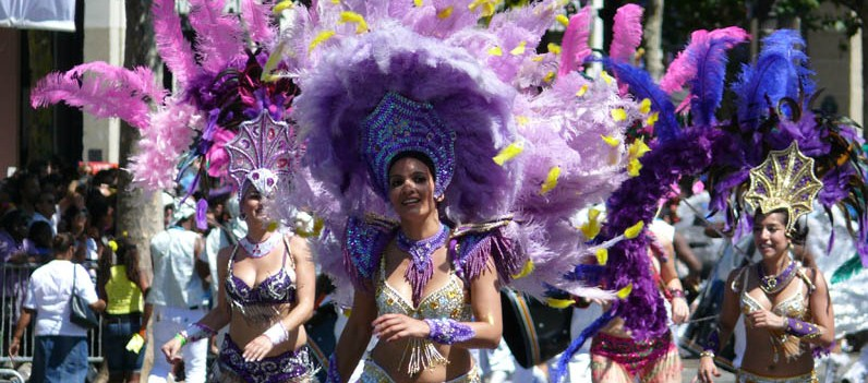 carnaval couleurs brazil